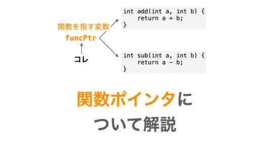 徹底図解!C言語の関数ポインタについて解説