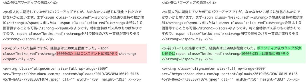 ワードプレスのバージョン管理の説明図