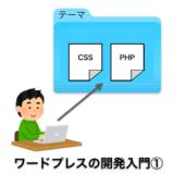 ワードプレスのテーマ開発入門①:まずは簡単なテーマを作ってページを表示する