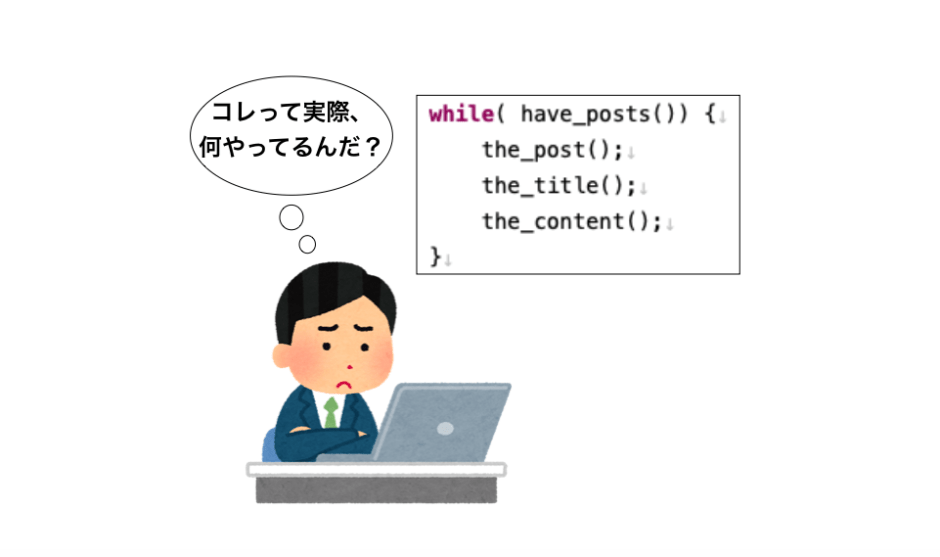 have_posts・the_postループ解説のアイキャッチ