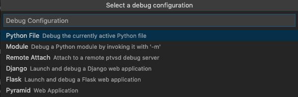 VSCodeでPythonデバッグ2
