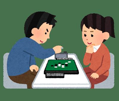 オセロゲームの図