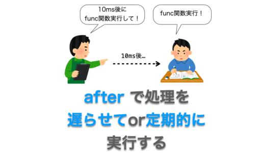 Tkinterの使い方:after で処理を「遅らせて」or 処理を「定期的」に実行する