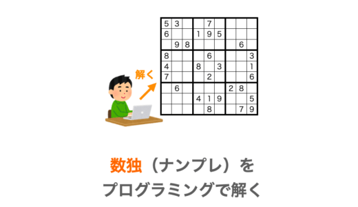 【C言語】数独(ナンプレ)をプログラミングで解く【バックトラック法】