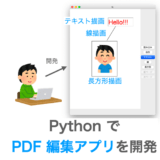 PDF編集アプリの作り方解説ページのアイキャッチ