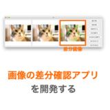 【Python/tkinter】画像の差分確認アプリを開発