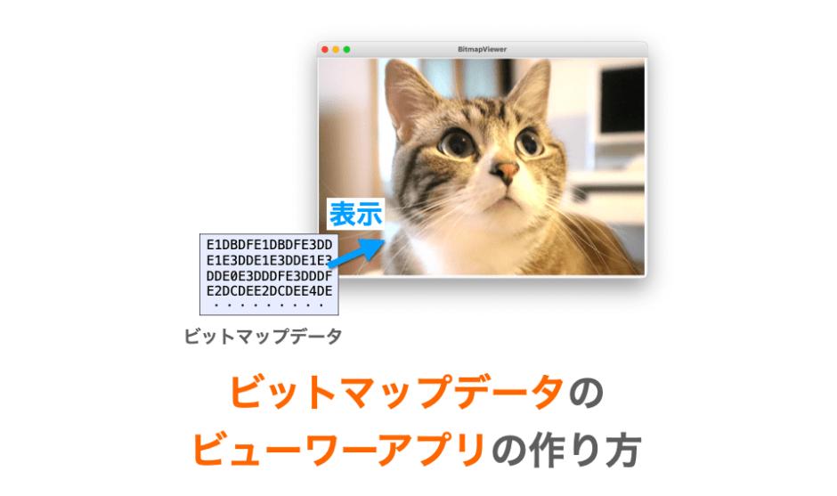 ビットマップデータビューワーの作り方解説ページアイキャッチ