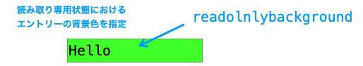 readonlybackgroundオプションの説明図