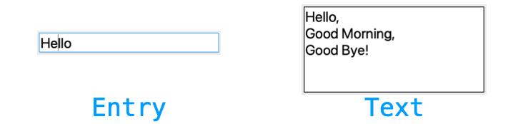EntryとTextの違いの説明図
