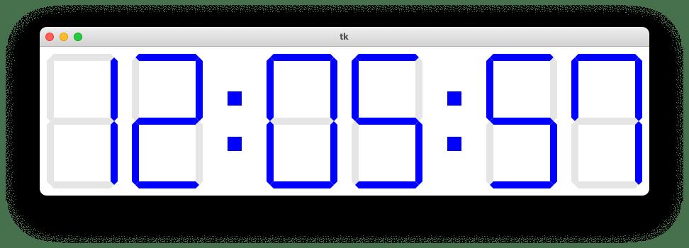 アプリの設定変更後のアプリの見た目を示す図
