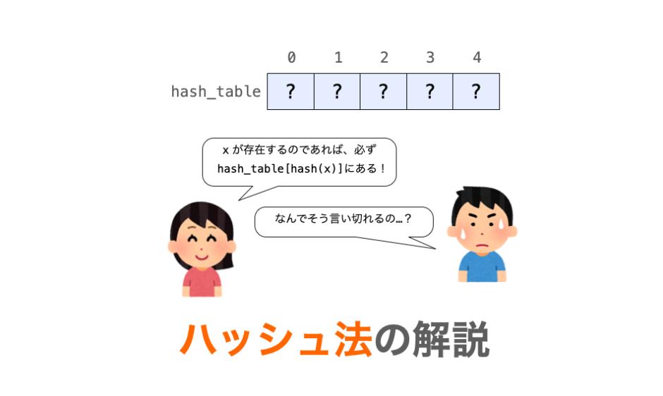 ハッシュ法の解説ページアイキャッチ